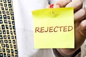 Rejected Bankruptcy Application