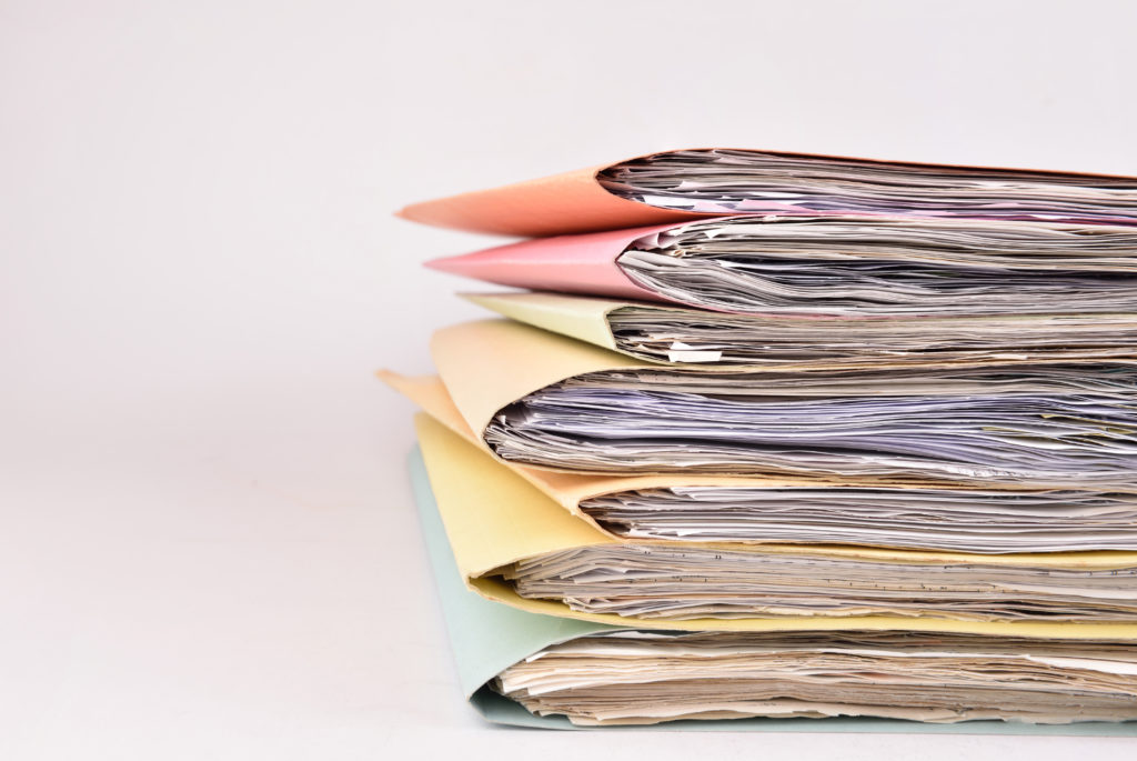 Paperwork Required if you go Bankrupt