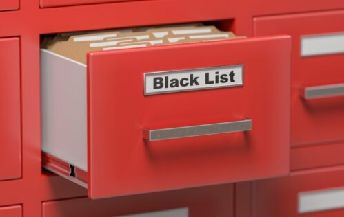 Blacklisted by Bankruptcy