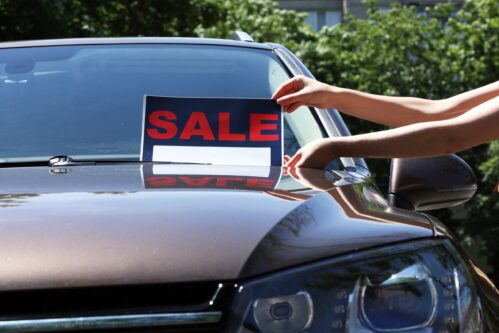 Can you sell your car before you go bankrupt