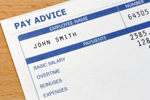 What happens to overtime or a bonus if you are bankrupt